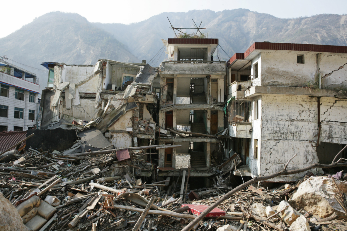 Sichuan Province after 2008 earthquake