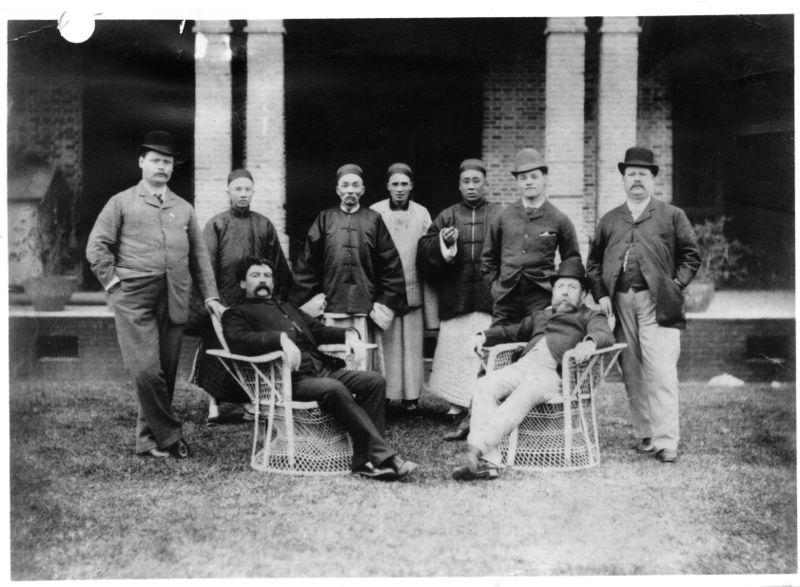 B&S Shanghai Staff 1883