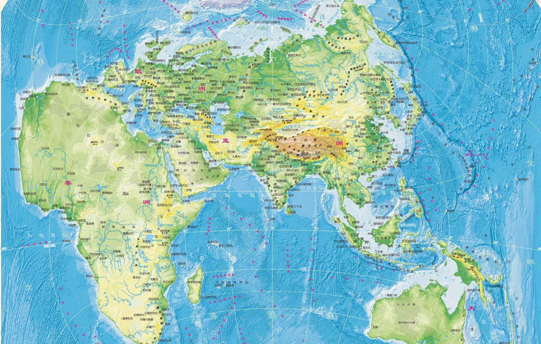 China centric map