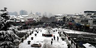 Nanjing in winter