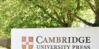 Cambridge University Press sign