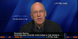 Geremie Barmé on ABC Lateline