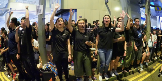 'Sing Hallelujah to the Lord' an unlikely anthem of Hong Kong protests