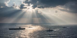 U.S. Navy transits the East China Sea