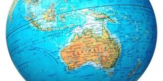 Globe-  Australia