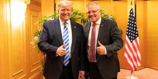 Donald Trump & Scott Morrison