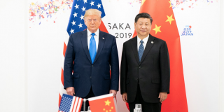 President Donald J. Trump and President Xi Jinping at the G20 Japan Summit